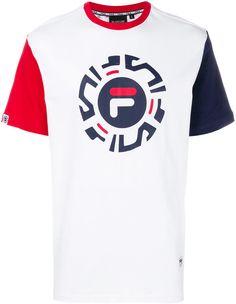 ac061f254 Fila Logo Print T-shirt - Farfetch. Adidas Originals TshirtsCotton LogoMens  ...