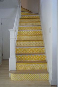 cute idea for stairs