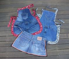 thyme 2 craft: Recycled Denim