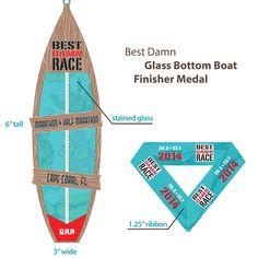 Cape Coral 2014 Marathon and Half Medal Virtual Run, Glass Bottom Boat, Running Medals, Runner Girl, Cape Coral, Surfboard, Swimming, Racing, Half Marathons