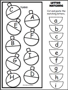 Back to School Math & Literacy Worksheets and Activities