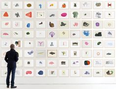 Album show by The Bouroullec brothers - quite the display of process sketches
