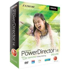 Cyberlink Video Editing PowerDirector 14 Deluxe Software Download | Purch Marketplace