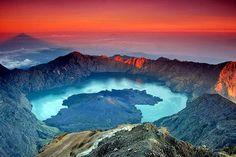 Mount Rinjani National Park, Lombok Island, Indonesia