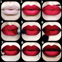 to Sell a House That Really Isn't That Great Deep Red Ombre Lip Tutorial -Lovely Lipstick Tutorials to Spice up Your Makeup . → MakeupDeep Red Ombre Lip Tutorial -Lovely Lipstick Tutorials to Spice up Your Makeup . Makeup Hacks, Makeup Tips, Beauty Makeup, Hair Makeup, Hair Beauty, Makeup Ideas, Makeup Tutorials, Makeup Trends, Makeup Hairstyle