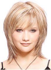 Genuine Short Straight Capless Human Wigs