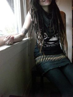 crust punk girl - Google Search