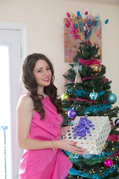 Southern Belle in Training: Christmas Home Tour: My Girly + Sparkly Christmas Decor!