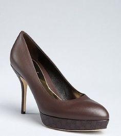 Diva-Dealz - GUCCI  Shoes Pumps GG Brown Sofia 41.5 11.5 41 1/2 , $399.99 (http://www.diva-dealz.com/gucci-shoes-pumps-gg-brown-sofia-41-5-11-5-41-1-2/)