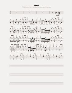 Drum Solo, Soloing, Drums, Sheet Music, Drum Sets, Drum, Music Score, Drum Kit, Music Sheets