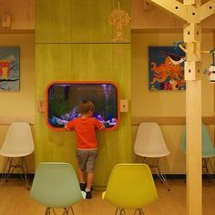 Pixar-minded  #pediatric suite, considers family, function and form.   #spacematters.  #as | FunFinders