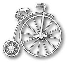 Memory Box Dies, Vintage Bicycle