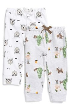 ROSIE+POPE+Graphic+Print+Pants+(Set+of+2)+(Baby+Boys)+available+at+#Nordstrom
