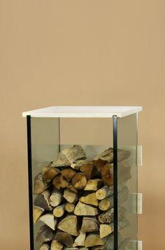 kaminholzaufbewahrung aussen design kaminholzregal stahl bank design sitzbank sideboard. Black Bedroom Furniture Sets. Home Design Ideas