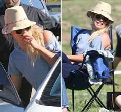Britney Spears Is The Happiest Soccer Mom On The Field - X17 Online
