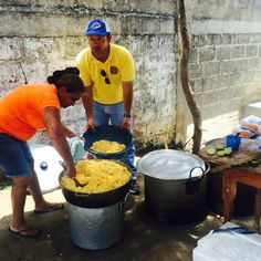 Corozal #LionsClub (Colombia) served 200 meals and donated clothing to people in need