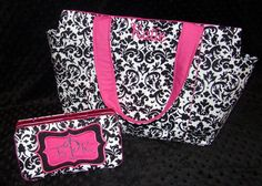 Design Your Own Large Diaper Bag Set with by glamourgirlboutique, $88.00