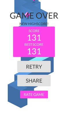 OMG!Imade 131 zigzags playing #ZigZag https://itunes.apple.com/app/id951364656