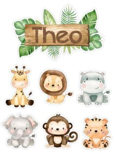 Jungle Theme Cakes, Safari Theme Birthday, Jungle Party, Safari Party, Animal Birthday, Boys 1st Birthday Cake, Festa Safari Baby, Jungle Safari, Pregnancy Scrapbook