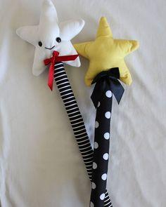 Faire un doudou baguette magique   Make a magic wand blanket