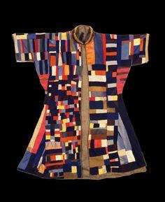 Dervish's patchwork cloak  Iran, mid-19th c.  Cotton, felt, fur