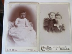 Vintage Cabinet Cards Baby Mother and Child by PECollectibles, $10.00