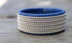 Sami bracelet viking bracelet made in Sweden by ACDesignJewellery Handmade Wire Jewelry, Viking Bracelet, Beaded Bracelet Patterns, Leather Cord, Silver Beads, Bracelet Making, Sweden, Jewelry Collection, Rings For Men