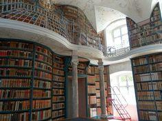 Our Lady of Einsieldeln Archabbey Library - Einsieldeln, Schwyz, die Schwiess