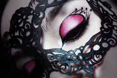 The tutorial's actually for the makeup, but I like the mask.