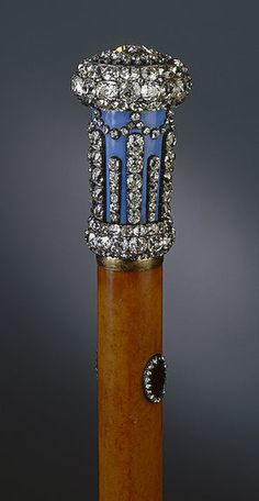 jeweled cane
