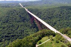 New River Gorge Bridge, West Virginia...