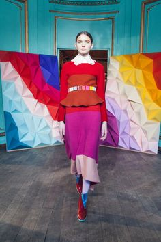 Tsumori Chisato Fall 2016 Ready-to-Wear Fashion Show  http://www.theclosetfeminist.ca/  http://www.vogue.com/fashion-shows/fall-2016-ready-to-wear/tsumori-chisato/slideshow/collection#11