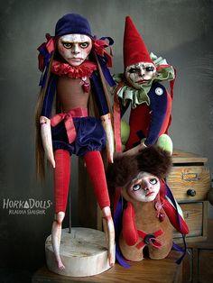 SAD CIRCUS - Horka Dolls by Klaudia Gaugier