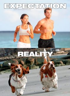 Funny photos, running humor, expectation vs reality, haha so true, try not Funny Love, You Funny, Hilarious, Crazy Funny, Funny Dating Quotes, Funny Relatable Memes, Memes Humor, Jokes, Funny Supernatural Memes