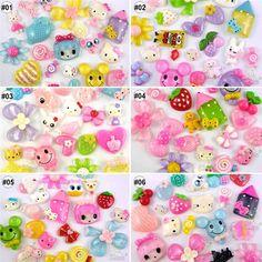 20 pcs Lots mixed colorful resin flatback/Buttons scarpbook embellishment craft