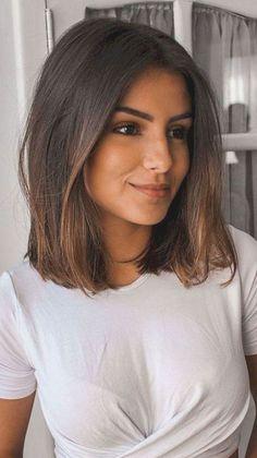 Medium Hair Cuts, Short Hair Cuts, Medium Hair Styles, Short Hair Styles, Bob Styles, Medium Haircuts For Women, Long Bob Cuts, Short Brown Hair, Black Hair