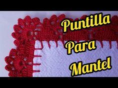 Puntilla para servilleta MRA Aisha Ferrara - YouTube