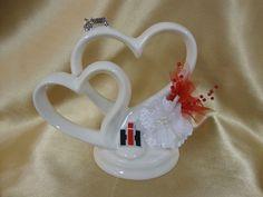 Case IH Inspired Wedding Cake Topper on Etsy, $34.95