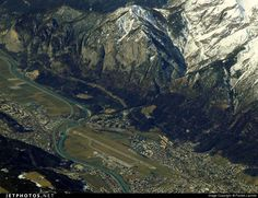we fly over Innsbruck airport about halfway between Frankfurt and Bo. WE LOVE FLYING OVER THE ALPS!!!!!!