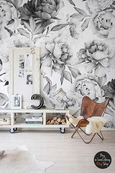 **Self-adhesive wall mural**  My wall murals are printed on an innovative, **self-adhesive material**, which allows them to be applied and peeled multiple times!  The material I use is stain- and tear-resistant and sticks to any flat surface! Its main advantage is its wonderfully simple application: you can easily apply it yourself without getting any annoying air bubbles. It can also be easily removed without damaging the surface underneath. ★Peel&Stick!★  The dimensions of the wall mura...