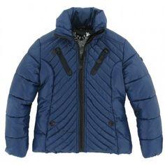 Reset - Winterjas blauw 505