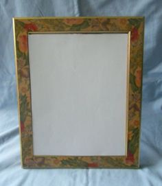 Freestanding-Mirror-with-Floral-Frame-approx-32cm-x-26cm-Free-P-P