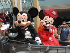 Mickey and Minnie Photo: Mickey and Minnie Mouse Mascot Costumes, Adult Costumes, Disney Parks, Walt Disney, Mickey Costume, Disney Visa, Mouse Photos, Daisy Duck, Mickey And Friends