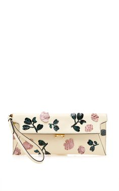 Pochette Clutch With Embroidery by Marni for Preorder on Moda Operandi