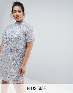 Buy Lost Ink Plus shift dress with all over embellishment at ASOS. With free delivery and return options (Ts&Cs apply), online shopping has never been so easy. Get the latest trends with ASOS now. Flowing Dresses, Latest Dress, Asos, Bridesmaid Dresses, Bridesmaids, Plus Size Dresses, Plus Size Fashion, Fashion Online, Fitness Models