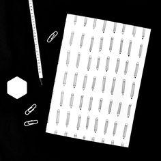 A4 Notebook - Pencils