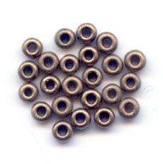 Miyuki Seed beads 15/0 2006 - Mat Metallic Dark Bronze
