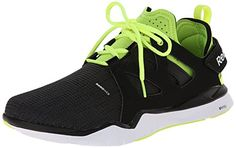 Reebok Mens Zcut TR Training Shoe BlackGravelSolar YellowWhite 9 M US *** To view further for this item, visit the image link.