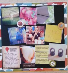 Created by Lori Scholz using the January '14 Smaller than a Breadbox kit - Project Life® page.  www.apronstringskits.com