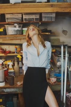 yourmothershouldknow: Camille Rowe x So It Goes Magazine